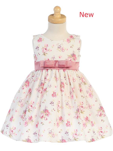 Style No. M728 - Cotton Floral Print Dress