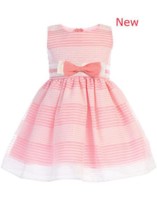 Style No. M733 - Lito Striped Organza Dress