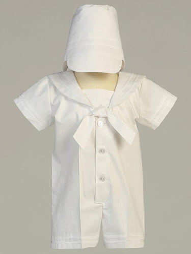 Owen-L Poly Cotton Sailor Christening Outfit