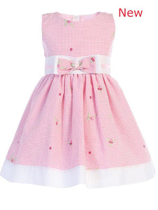 Style No. M738 - Lito Cotton Seersucker Dress