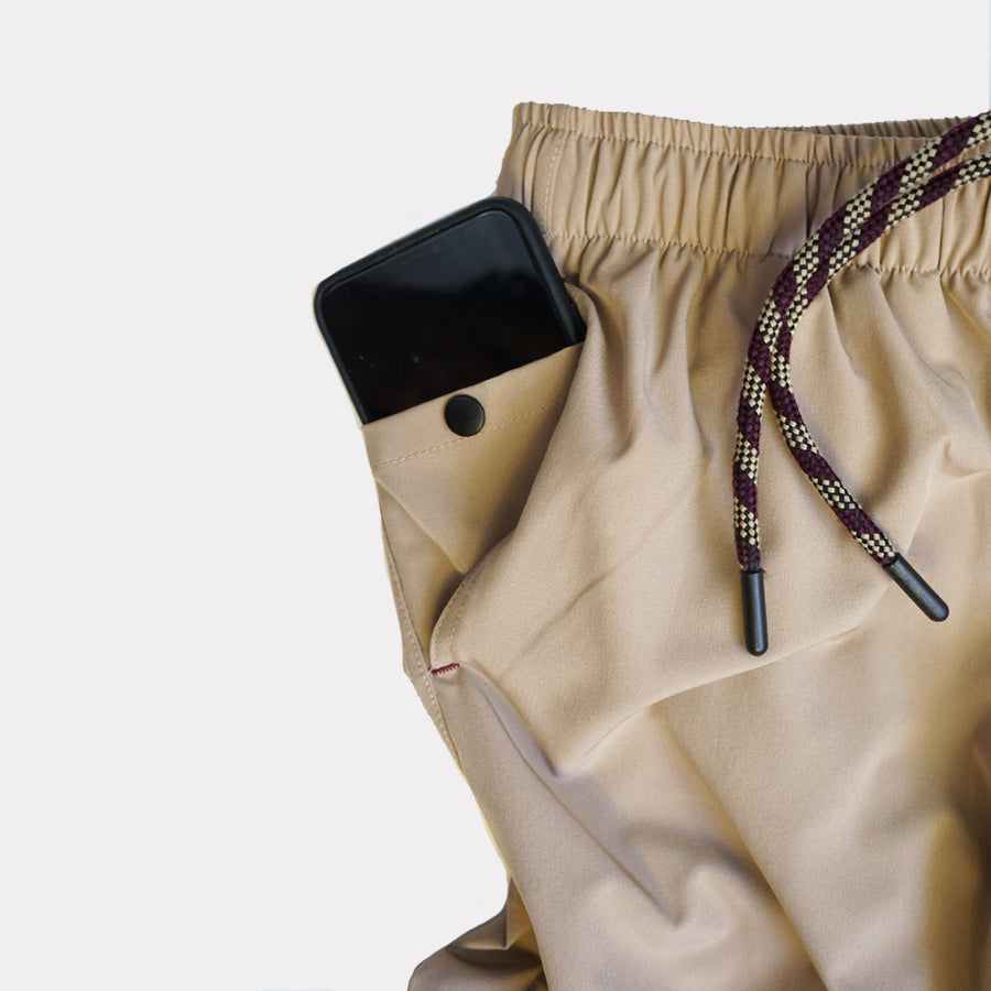 Earth Shorts in Sandstone Tan