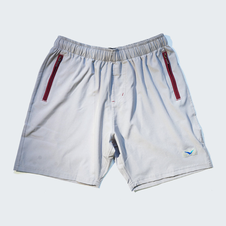 Flight Shorts in Marble Gray
