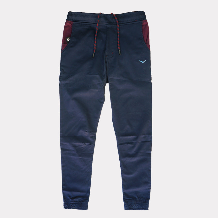 Earth Joggers in Obsidian Blue