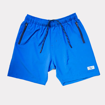 Flight Shorts in Lapis Blue