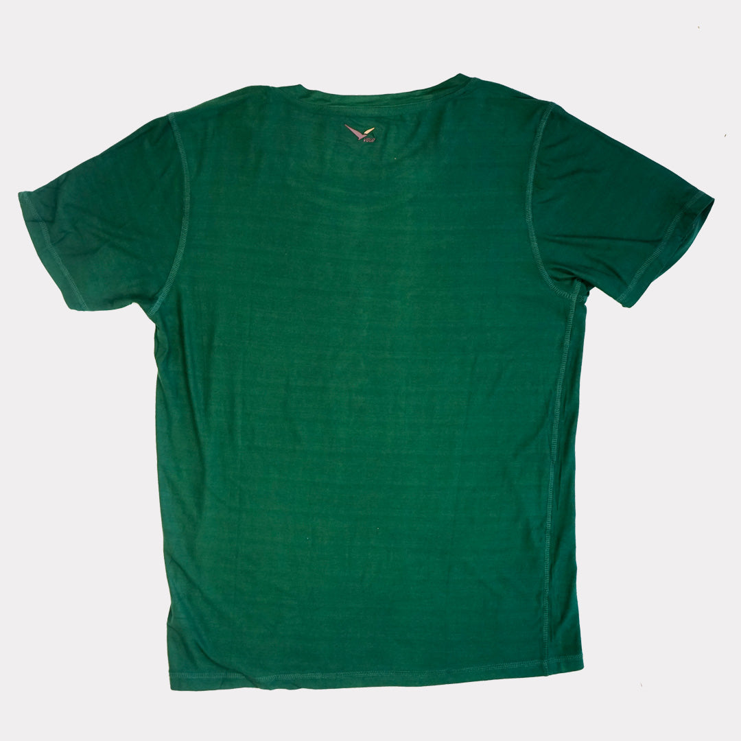 Volo Classic Half Dome Tee in Jade Green