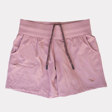 Terra Shorts in Rose Quartz Pink