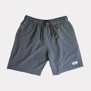 Earth Shorts in Slate Gray