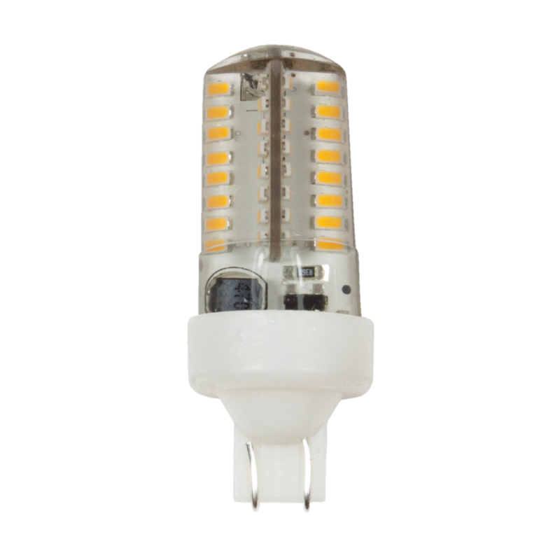 3W LED T5 WEDGE ECOSTAR BULB - 2700K