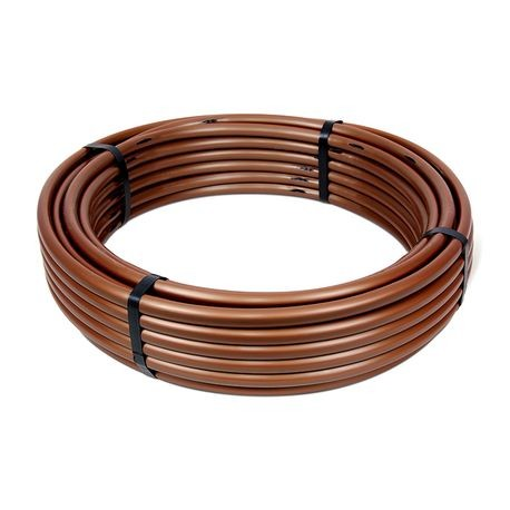 "Built-In Emitter Tubing - 0.9 GPH PC Emitters, 12"" SPACING, 100 FT"