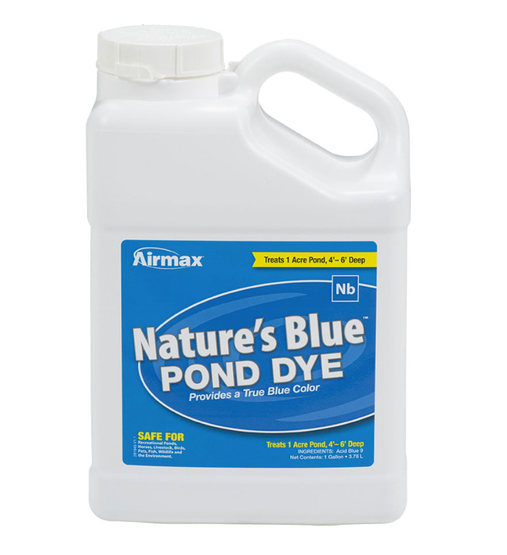Nature's Blue Pond Dye - 1 Gal