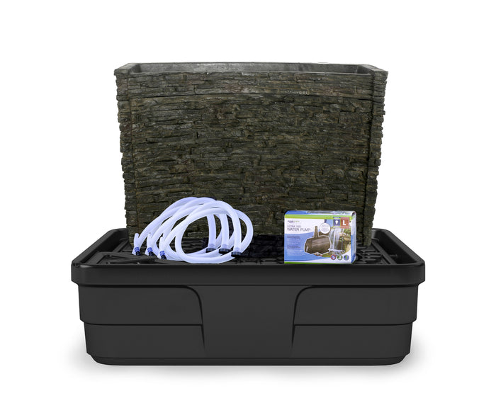 Aquascape Stacked Slate Wall Fountain Kit