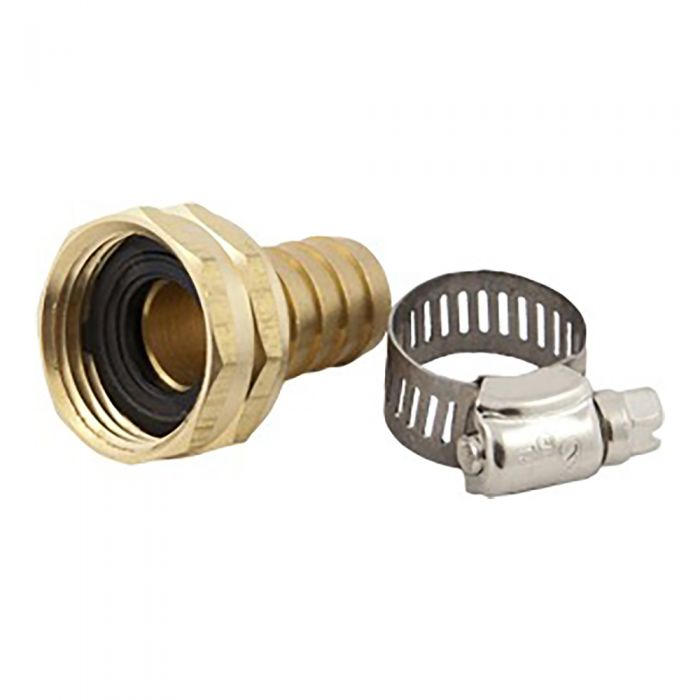 "5/8"" HOSE BARB X FEMALE HOSE THREAD"