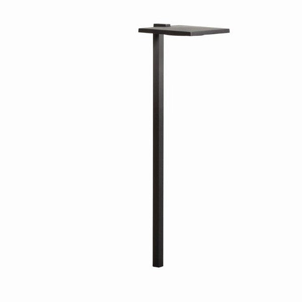 LED Shallow Shade - Small Path Textured Black Landscape 12V LED Path/Spread