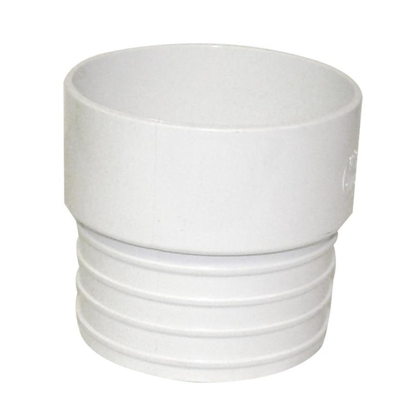 PVC Sewer 4X4 Corrugated Pipe Adapter