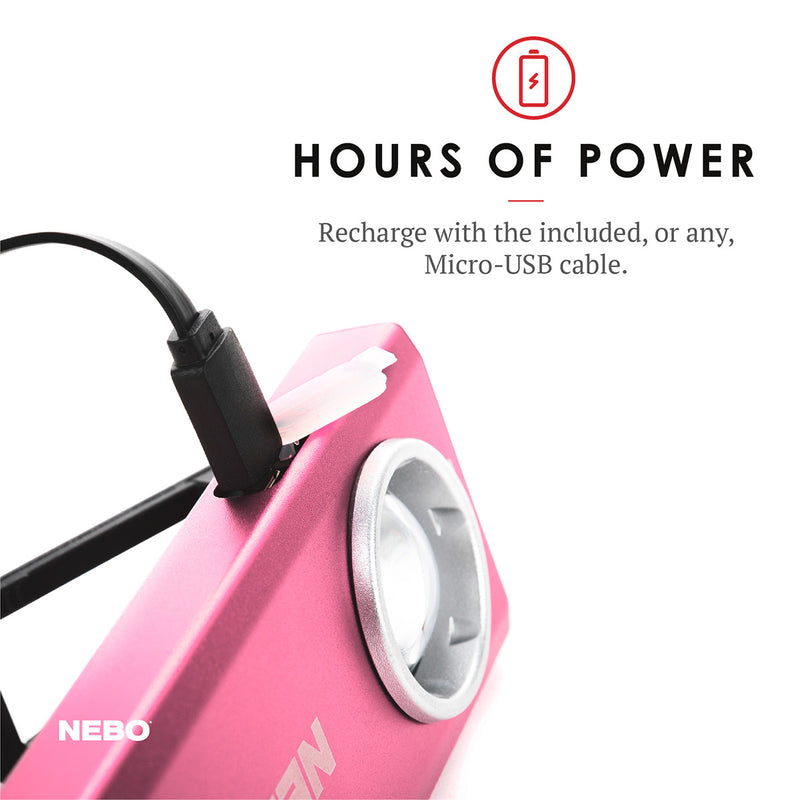 SLIM Rechargeable Pocket Light 500