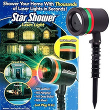 Load image into Gallery viewer, Star Shower LED Outdoor/Indoor Laser-Projected Light