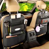 Load image into Gallery viewer, LEATHER SEAT BACK ORGANIZER WITH MULTIPLE POCKET