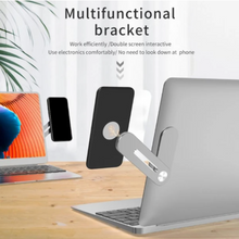Load image into Gallery viewer, Stylish Magnet Fit Laptop-Smartphone Holder
