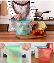 Load image into Gallery viewer, Reusable Food Storage Bag