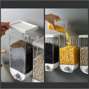 GRAIN STORAGE BOX WALL-MOUNTED
