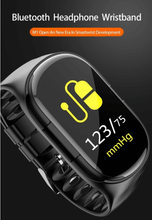 Load image into Gallery viewer, Smart Watch With Bluetooth Earphones