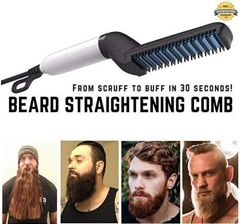 Instant Beard + Hair Straightener