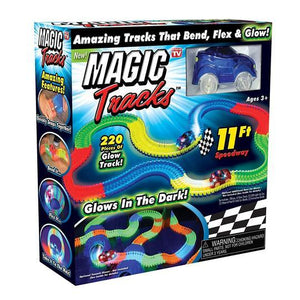 Magic Tracks - Amazing Racetrack That Can Bend, Flex and Glow