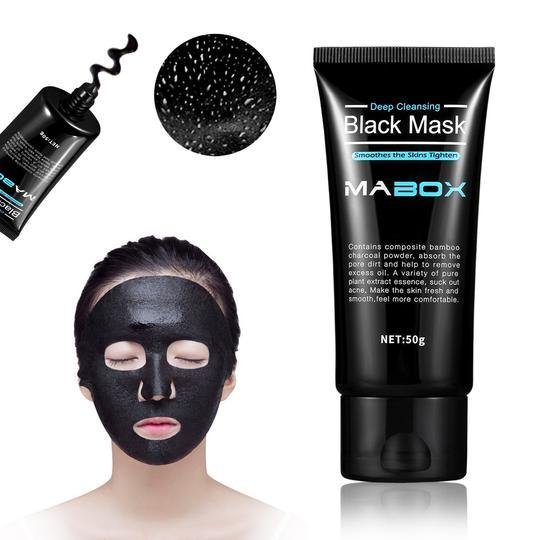 MASK WITH ACTIVATED CHARCOAL POWDER