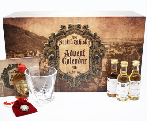 Single malt scotch whisky tasting set