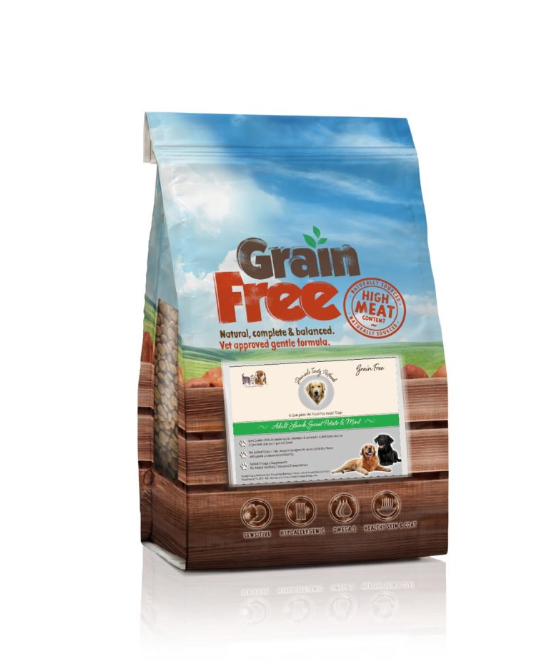 Grain Free Small Breed Lamb, Sweet Potato & Mint GF  | 6KG