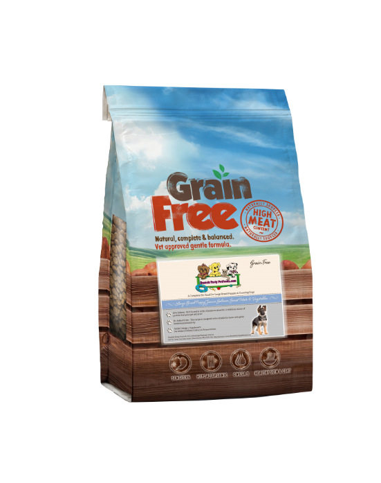 Grain Free - Breed Puppy/Junior Dog Food Salmon with Sweet Potato & Vegetables GF/B | 12KG
