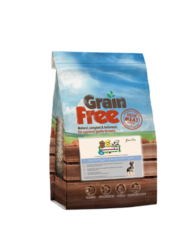 Grain Free – Breed Puppy/Junior Dog Food Salmon with Sweet Potato & Vegetables GF/A | 6KG