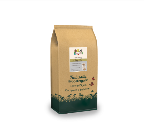 Naturals Turkey & Rice Puppy NT/BL | 12KG