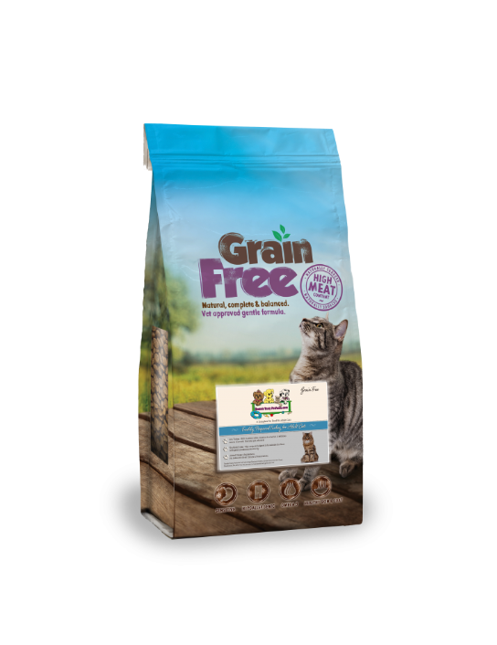 Grain Free Freshly Prepared Turkey For Adult Cats GF/A5-BL | 7.5KG