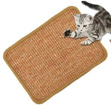 Load image into Gallery viewer, Sisal Cat Scratcher Board Scratching Post Mat