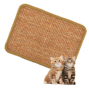 Sisal Cat Scratcher Board Scratching Post Mat