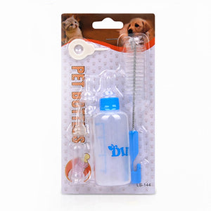 Three-piece Pet Bottle Set Mini Milk Feeder Pet Products