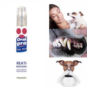 Teeth Clean Oral Spray Breath Mouth Cleaning Freshener