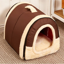 Load image into Gallery viewer, Igloo Foldable Warm Padded Winter Bed House