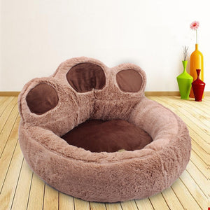 Soft Material Nest Dog Baskets Fall And Winter Fleece Warm Bed