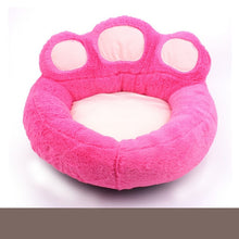 Load image into Gallery viewer, Soft Material Nest Dog Baskets Fall And Winter Fleece Warm Bed