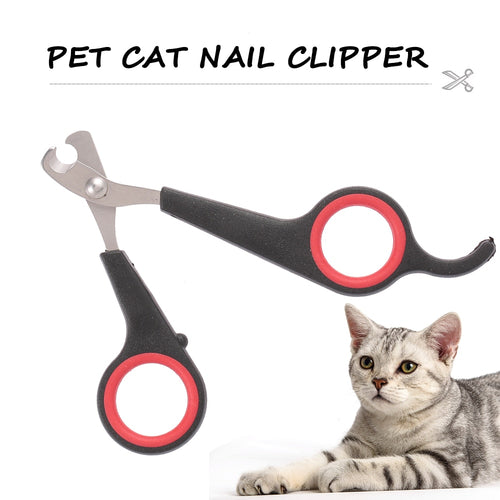 Professional Stainless Steel Pet Cat Nail Clipper