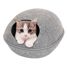 Load image into Gallery viewer, Egg Shape Felt Cloth Pet House