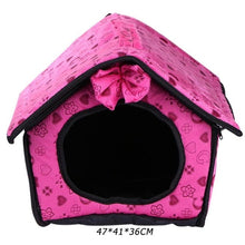 Load image into Gallery viewer, Soft Material Nest Baskets Kennel Dog House