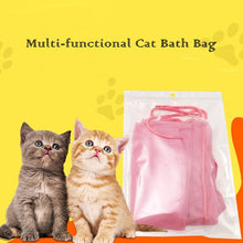 Load image into Gallery viewer, Multi-Functional Cat Stationary Bag for Bath Nail Cutting Ear Cleanning