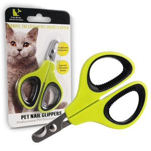 Portable Professional Cat Nail Clippers