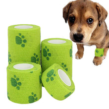 Load image into Gallery viewer, Pet dog Cat Self-adhesive Elastic Bandage