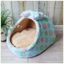 Load image into Gallery viewer, Pet Bed Dog House Kennel Doggy Warm Cushion Basket