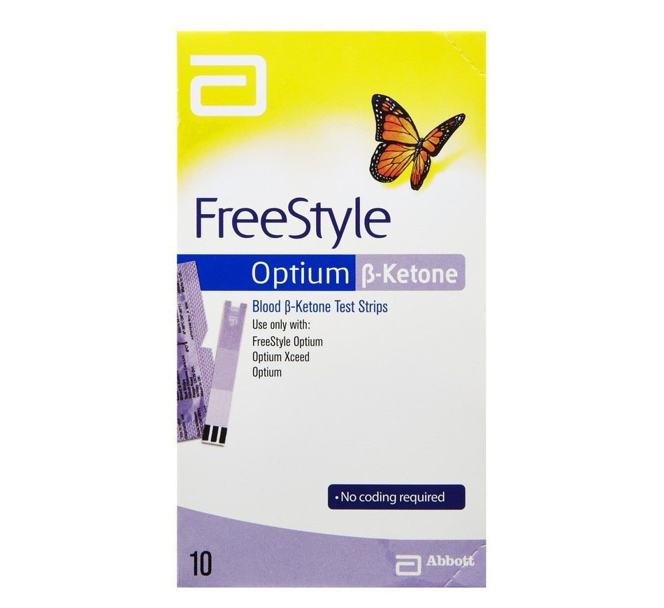 FREESTYLE OPTIUM BLOOD KETONE STRIP {10'S/BOX}