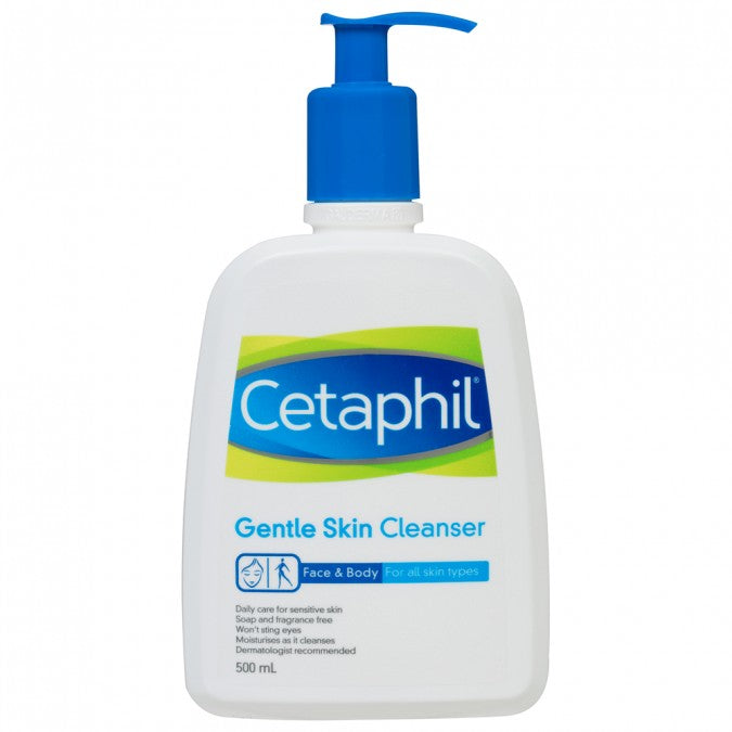 CETAPHIL CLEANSER {500ML/BTL}